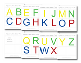 all the letters of the alphabet in printable banner form