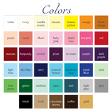 banner color chart - Celebrating Together