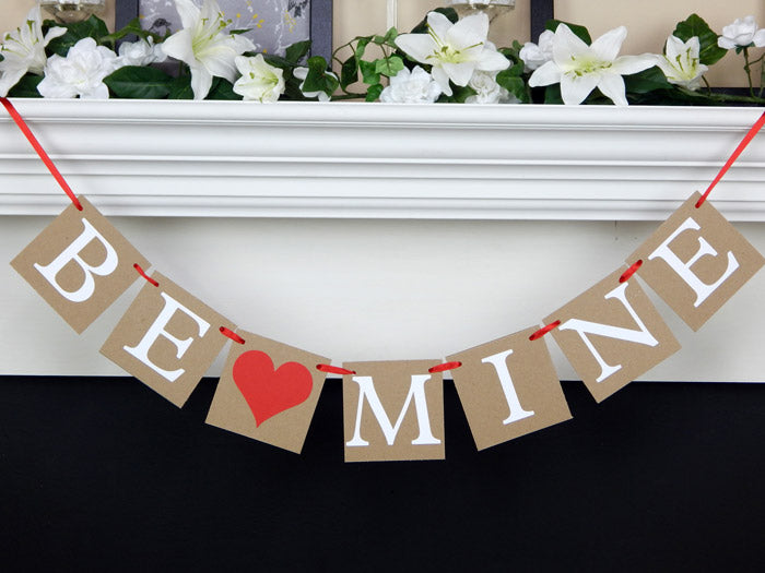 be mine banner for valentine's day - Celebrating Together
