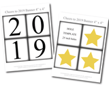 Printable cheers to 2019 banner - Celebrating Together