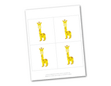 zoo animal printable for birthday party banner - Celebrating Together