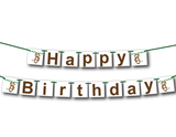 jungle happy birthday banner - Celebrating Together