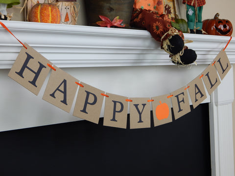 Happy Fall banner - Celebrating Together
