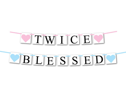 boy and girl twice blessed  banner - Celebrating Together