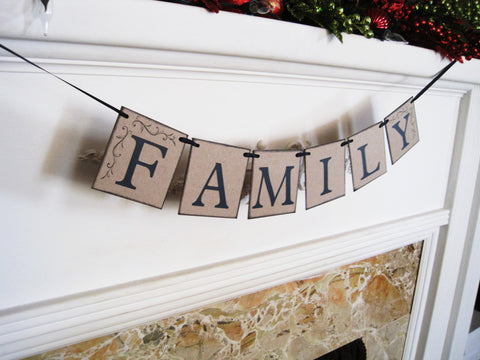 Family Banner - Celebrating Together