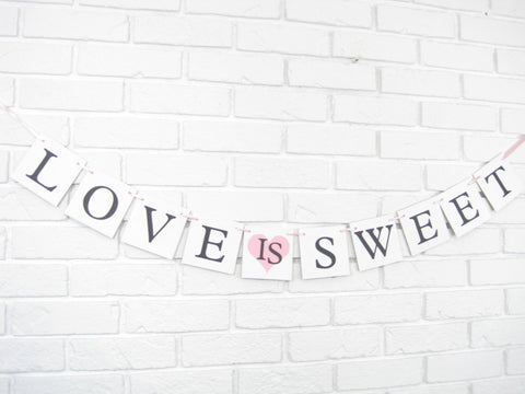 Love Is Sweet Banner - Celebrating Together