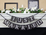 Just Married Banner - Celebrating Together