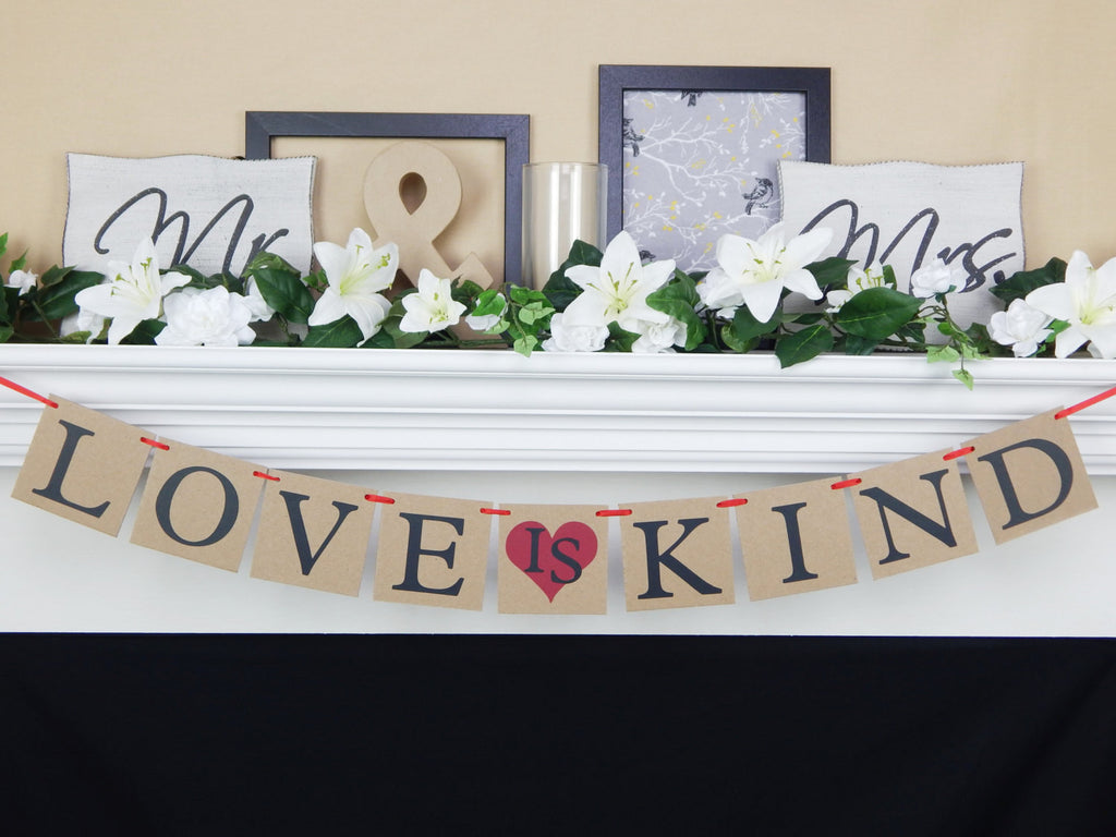Love is Kind Banner - Celebrating Together