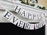 Happily Ever After Wedding Banner - Celebrating Together