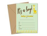printable boys baby shower invites - Celebrating Together