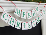 Decorative holiday home decoration - Merry Christmas garland - Celebrating Together