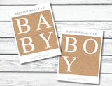 printable baby shower banner - Celebrating Together