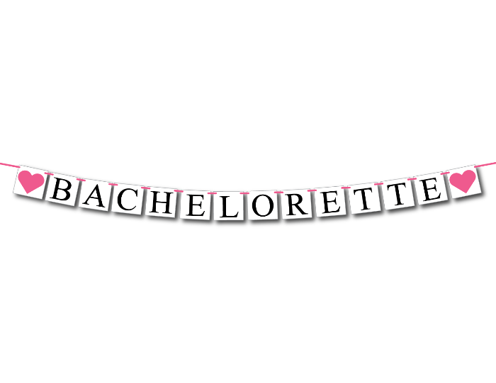 printable bachelorette party banner - Celebrating Together