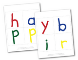 printable crayon lettering for diy happy birthday banner - Celebrating Together