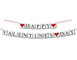 diy happy valentine's day banner - Celebrating Together