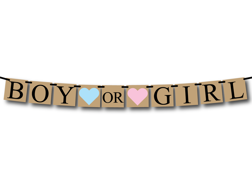 rustic boy or girl banner - Celebrating Together