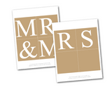 diy rustic mr and mrs banner - Celebrating Together