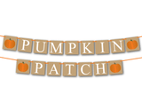 Rustic pumpkin patch banner - Celebrating Together