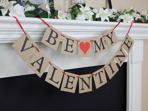 be my valentine banner - Celebrating Together
