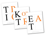 printable trick or treat banner pages - Celebrating Together