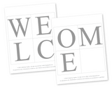diy welcome baby girl printable baby shower banner - Celebrating Together