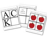 printable apples for classroom decor - Celebrating Together