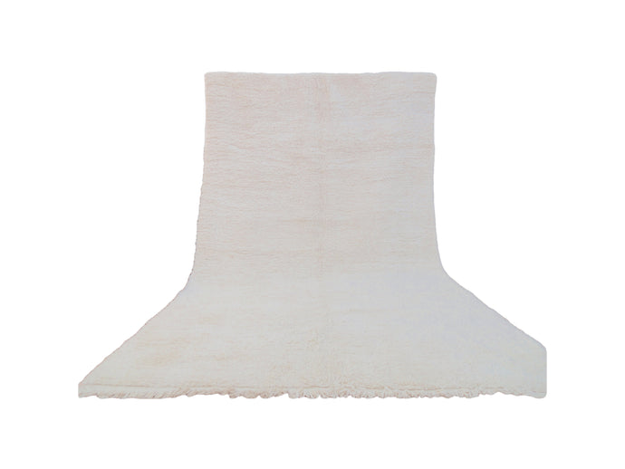 Cream White Beni Ourain Rug