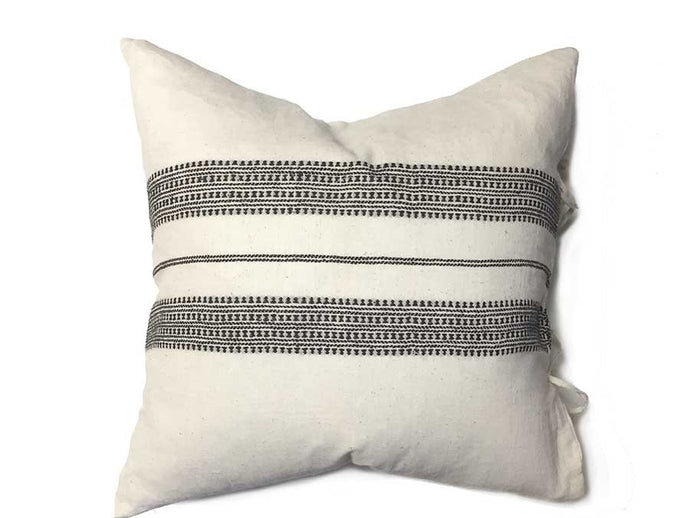 Organic Cotton Malana Pillow Cover - Square
