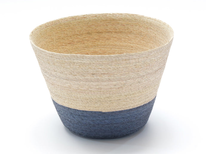 Azul Blue Palm Basket