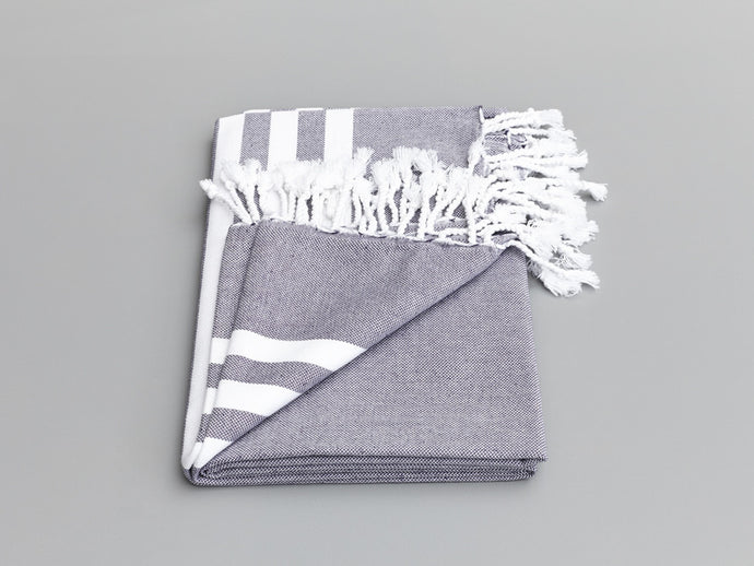Esra Indigo Turkish Towel