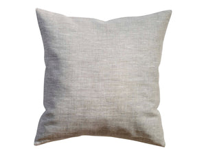 Light Gray Linen Pillow