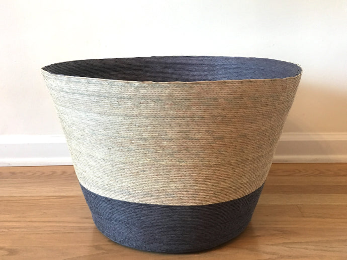 Gray Condesa Palm Basket