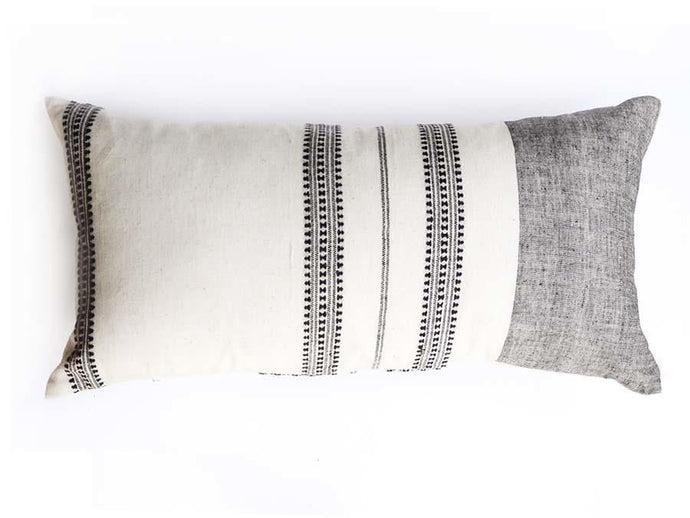 Organic Cotton Malana Pillow Cover - Lumbar