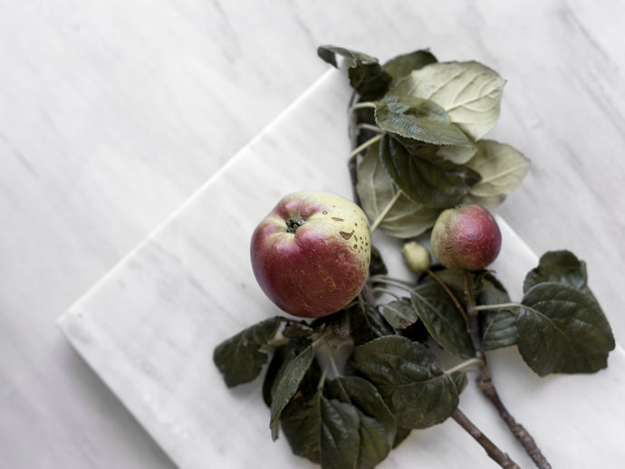 Matte White Marble Serving Board