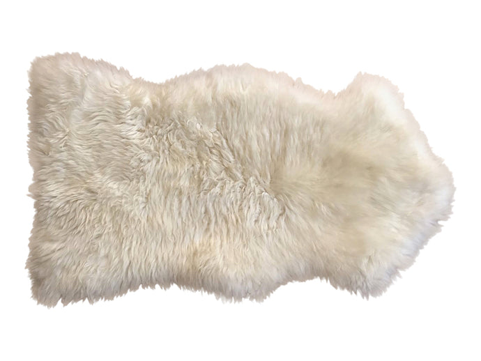 Natural Sheepskin - White