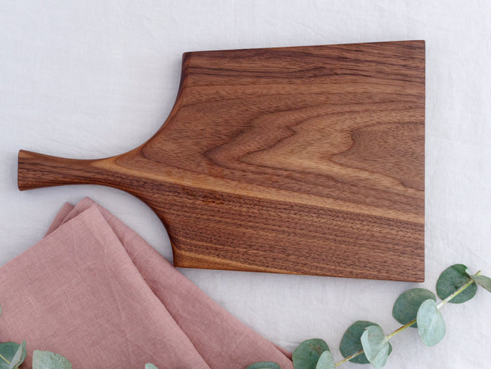 Walnut Serving Board with Handle