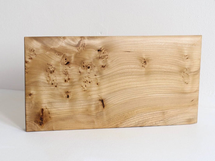 Long Elm Wood Serving Board