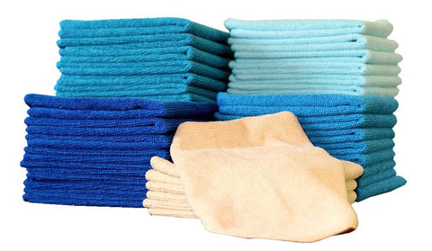 50pc. Microfiber Towel Set
