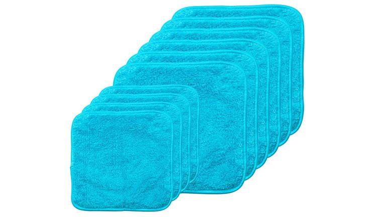10pc. PuppyFur® Microfiber Towel Set by Campanelli Products™