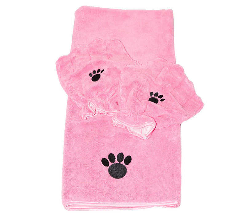 Pamper Your Pet™ Microfiber Towel & Mitt Set by Campanelli Products™