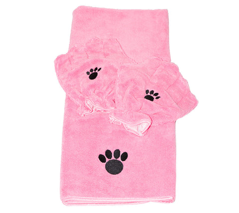Pamper Your Pet™ Microfiber Towel & Mitt Set
