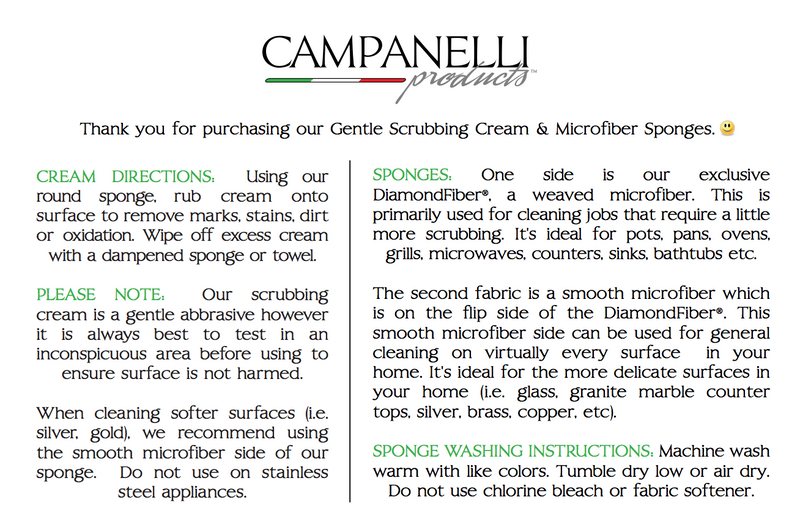Professional Formula Gentle Scrubbing Cream by Campanelli Products™