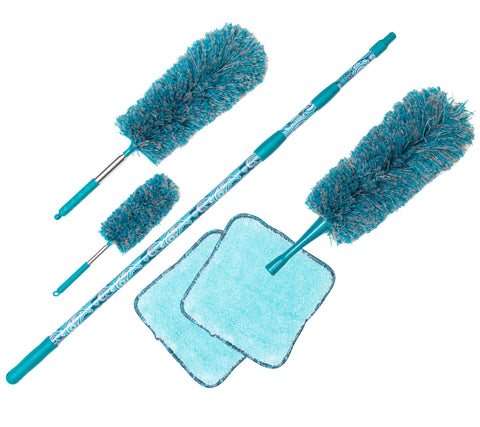 6-Piece EasyReach Microfiber Duster Set by Campanelli