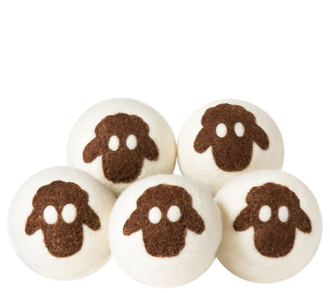 100% Lambswool Dryer Balls by Campanelli Products