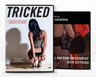 Tricked and Law Enforcement Extras DVD Combo Pack