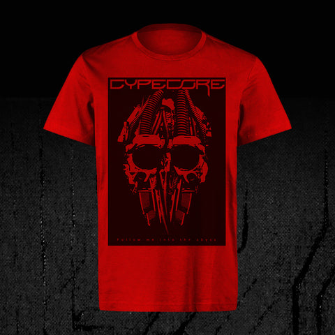 "Design Shirt ""Cypeskull"" Red"