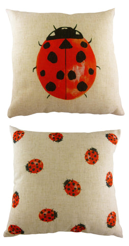 Ladybird Cushion