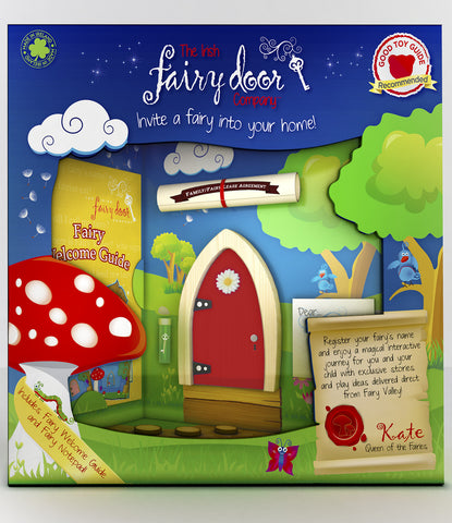 Red Fairy Door