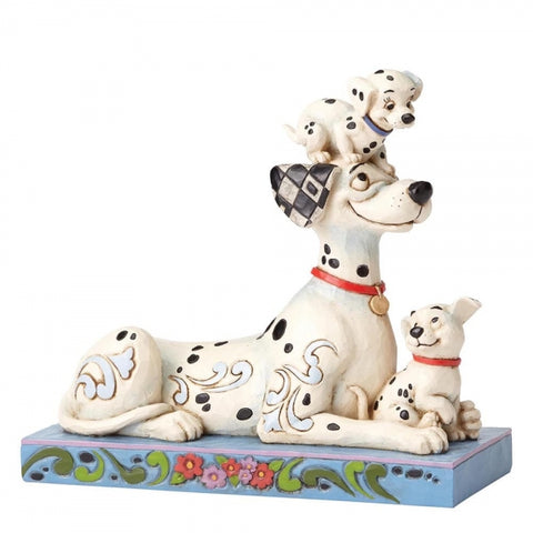 Puppy Love - Pongo with Penny & Rolly 55th Anniversary Piece