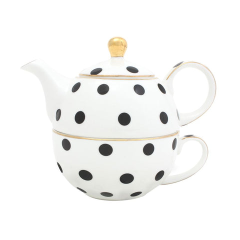 Loulou Spotty Tea For One